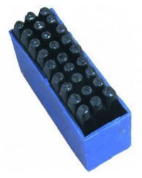 Punzoni/Lettere Scat.Plastica - Mm.  8
