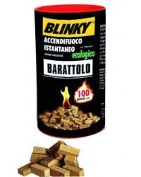 ACCENDIFUOCO BLINKY ECOLOGICO - BARATTOLO 100PZ CA.