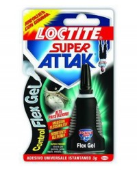 ADESIVI ATTAK SUPER - CONTROL-FLEX GEL 3G