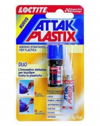 ADESIVI ATTAK SUPER - PLASTIX DUO 2G+4ML