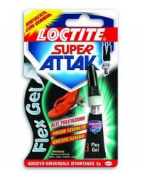 ADESIVI ATTAK SUPER - POWER-FLEX GEL 3GR