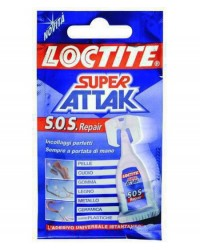 ADESIVI ATTAK SUPER - ULTRA REPAIR 6 DOSI
