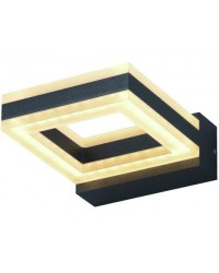 APPLIQUE LED VIGOR P/ESTERNI - GRANADA ALLUMINIO