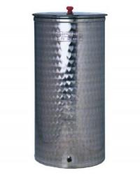 CONTENITORI P/ALIMENTI INOX - DIAM.MM. 420X780H.