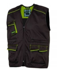 GILET DELTAPLUS PANOSTYLE - M6GIL BROWN/GREEN