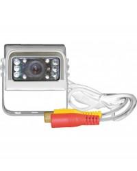 Camera A Colori 8 Ir Per Retromarcia -1/4 Ccd- Ingresso 12-24 Vcc Mod Ap2620