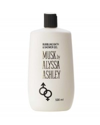 Alyssa Ashley Musk Shower Gel 500 ml ( bagno schiuma )
