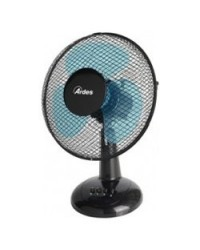 Ventilatore Easy Black Ea30 Tavolo 30 Cm Auto Oscillante Nero