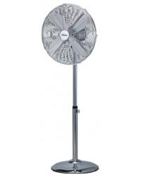 Ventilatore Cromo C45Ph Pavimento  Auto Oscillante Argento