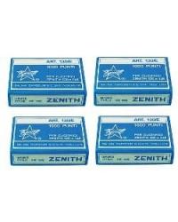 Confezione 4000 Punti Metallici 4 Mm Per Graffatrice Pinza Zenith 590 E 548 130/E