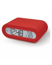 Sveglia Rrm-116R - Diplay Digitale Colore Rosso