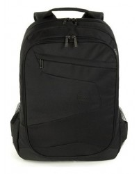 "Zaino Lato Backpack Fino A 17"" Blabk Borsa Notebook"