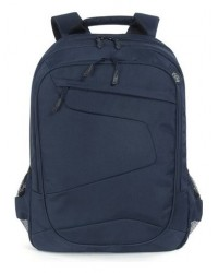 "Zaino Lato Backpack Fino A 17"" Blabk-B Borsa Notebook"